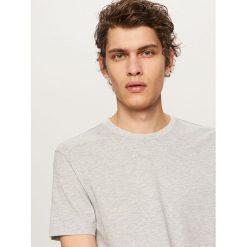 T-shirt BASIC - Jasny szar. Szare t-shirty męskie Reserved. Za 19.99 zł.