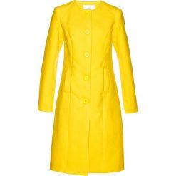 Płaszcz bonprix żółty cytrynowy. Płaszcze damskie marki FOUGANZA. Za 239.99 zł.