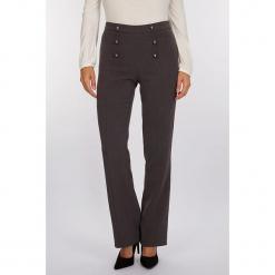 """Spodnie """"Cruise"""" w kolorze szarym. Szare spodnie materiałowe damskie Scottage. W wyprzedaży za 99.95 zł."""