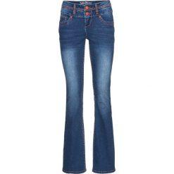 Miękkie dżinsy BOOTCUT bonprix niebieski. Jeansy damskie marki bonprix. Za 129.99 zł.