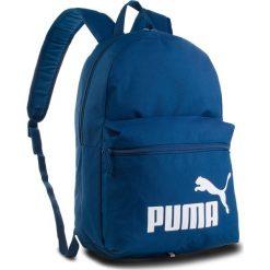 Plecak PUMA - Phase Backpack 075487 09 Limoges. Niebieskie plecaki damskie Puma, z materiału, sportowe. Za 89.00 zł.