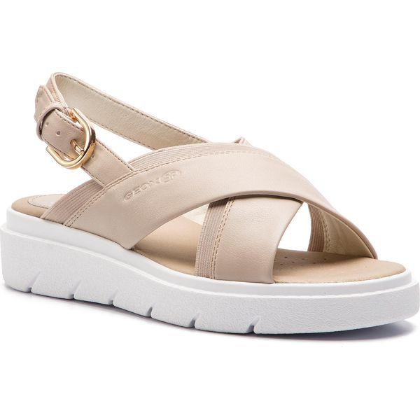 Sandały Damskie | Geox D Tamas C Biały | Tania Sprzedaż