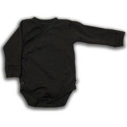 Body kimono z długim rękawem Czarna Owca r. 62cm (NCO-01). Czarne body niemowlęce Nanaf Organic, z długim rękawem. Za 42.29 zł.