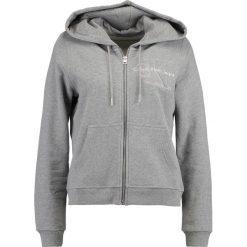 Calvin Klein Jeans HOLT HOODED ZIP THRU Bluza rozpinana light grey heather. Kardigany damskie Calvin Klein Jeans, z bawełny. Za 549.00 zł.