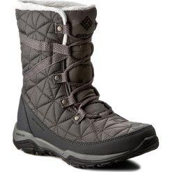 Śniegowce COLUMBIA - Loveland Mid Omni-Heat BL1743 Quarry/Black 052. Szare kozaki damskie Columbia, z materiału. Za 449.99 zł.