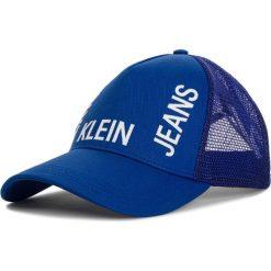 Czapka z daszkiem CALVIN KLEIN JEANS - J Trucker Mesh Cap K50K504321 455. Niebieskie czapki i kapelusze damskie Calvin Klein Jeans. Za 159.00 zł.