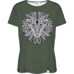 Colour Pleasure Koszulka damska CP-030 208 zielona r. XXXL/XXXXL. T-shirty damskie Colour Pleasure. Za 70.35 zł.