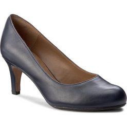 Półbuty CLARKS - Arista Abe 261291174 Navy Leather. Niebieskie półbuty damskie Clarks, ze skóry ekologicznej, eleganckie. W wyprzedaży za 219.00 zł.