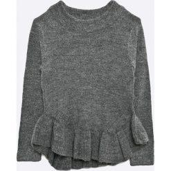 Name it - Sweter dziecięcy Frilly 116-164 cm. Swetry dla dziewczynek Name it, z dzianiny, z okrągłym kołnierzem. W wyprzedaży za 59.90 zł.