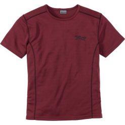 T-shirt funkcyjny Slim Fit bonprix ciemnoczerwony. T-shirty męskie marki Giacomo Conti. Za 49.99 zł.