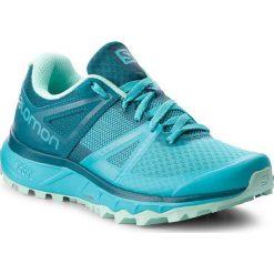 Buty SALOMON - Trailster W 404881 21 W0 Blubird/Deep Lagoon/Beach Glass. Niebieskie obuwie sportowe damskie Salomon, z materiału. W wyprzedaży za 309.00 zł.