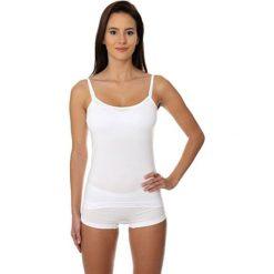 Brubeck Koszulka damska Camisole COMFORT COTTON biała r. S (CM00210A). T-shirty damskie Brubeck. Za 37.08 zł.