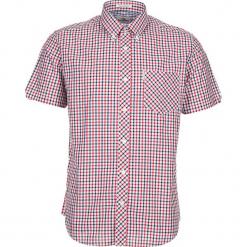 """Koszula """"SS House Check"""" - Regular fit - w kolorze czerwono-białym. Białe koszule męskie Ben Sherman, w kratkę, z bawełny, button down. W wyprzedaży za 130.95 zł."""