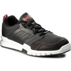 Buty adidas - Essential Star 3 M CG3512 Carbon/Cblack/Hirere. Czarne buty sportowe męskie Adidas, z materiału. W wyprzedaży za 169.00 zł.