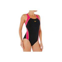 Strój jednoczęściowy pływacki BTC SPLICE damski. Czarne kostiumy jednoczęściowe damskie Speedo. Za 169.99 zł.