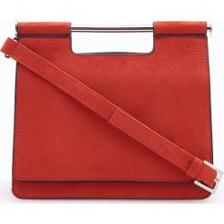 Torebka z ozdobnym uchwytem - Fioletowy. Fioletowe torebki do ręki damskie Reserved. Za 119.99 zł.