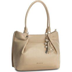 Torebka KAZAR - Gisella 29051-01-03 Beige. Brązowe torby na ramię damskie Kazar. W wyprzedaży za 549.00 zł.