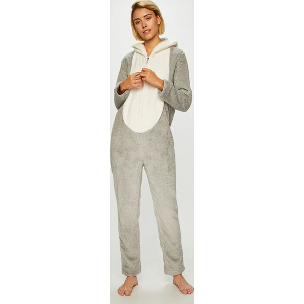 d1bc45b67b9541 Etam - Kombinezon piżamowy - Szare koszule nocne damskie Etam, l ...