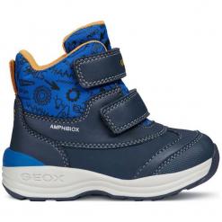 Geox Buty Zimowe Za Kostkę Chłopięce New Gulp 22 Niebieski. Niebieskie buty zimowe chłopięce Geox. Za 329.00 zł.