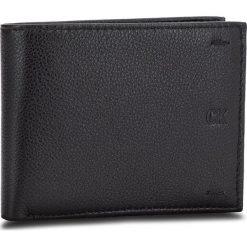 Duży Portfel Męski CALVIN KLEIN JEANS - Pebbled Leather Billfold W Coin K40K400665 001. Czarne portfele męskie Calvin Klein Jeans, z jeansu. Za 279.00 zł.