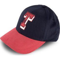 Czapka TOMMY HILFIGER - Thd Varsity Cap AW0AW04923  901. Niebieskie czapki i kapelusze damskie Tommy Hilfiger. W wyprzedaży za 129.00 zł.