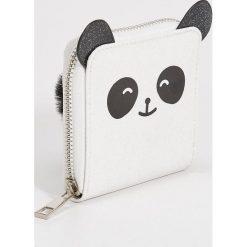 Portfel panda z uszami - Biały. Białe portfele damskie Sinsay. Za 19.99 zł.