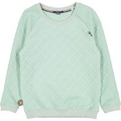 """Sweter """"It's Coming UP Again"""" w kolorze miętowym. Swetry dla dziewczynek marki bonprix. W wyprzedaży za 102.95 zł."""