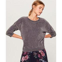 Luźny sweter basic - Szary. Szare swetry damskie Mohito. Za 89.99 zł.
