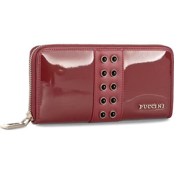 be3f76474a943 Duży Portfel Damski PUCCINI - BS2705 Red 3 - Czerwone portfele ...