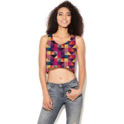 Colour Pleasure Koszulka damska CP-035  12 fioletowo-różowa  r. M-L. T-shirty damskie Colour Pleasure. Za 64.14 zł.