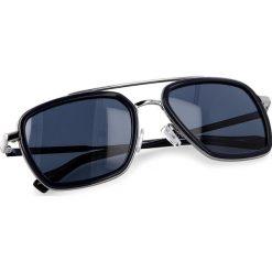 Okulary przeciwsłoneczne BOSS - 0306/S Blue PJP. Okulary przeciwsłoneczne damskie Boss, z tworzywa sztucznego. W wyprzedaży za 459.00 zł.