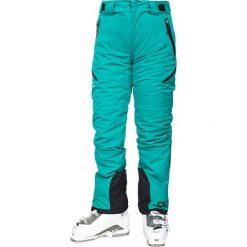 """Spodnie narciarskie """"Marisol"""" w kolorze turkusowym. Niebieskie spodnie snowboardowe damskie Trespass Snow Women, z haftami. W wyprzedaży za 347.95 zł."""