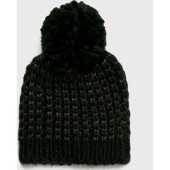 Only - Czapka Tibana. Czarne czapki i kapelusze damskie Only, z dzianiny. Za 59.90 zł.