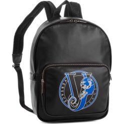 Plecak VERSACE JEANS - E1YSBB04 70721 899. Czarne plecaki damskie Versace Jeans, z jeansu. W wyprzedaży za 449.00 zł.