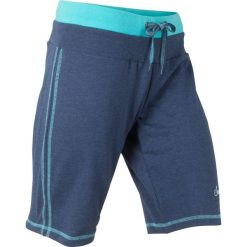 Szorty dresowe bonprix kobaltowy - morski melanż. Spodnie dresowe damskie marki bonprix. Za 54.99 zł.