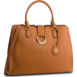 Torebka LAUREN RALPH LAUREN - Kenton 431724036002 Brown. Brązowe torebki do ręki damskie Lauren Ralph Lauren, ze skóry. Za 1,519.00 zł.