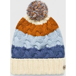 Columbia - Czapka/kapelusz CU9217. Szare czapki i kapelusze damskie Columbia, z dzianiny. W wyprzedaży za 84.90 zł.