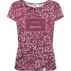 Colour Pleasure Koszulka damska CP-034 253 fioletowa r. XL/XXL. T-shirty damskie marki Colour Pleasure. Za 70.35 zł.