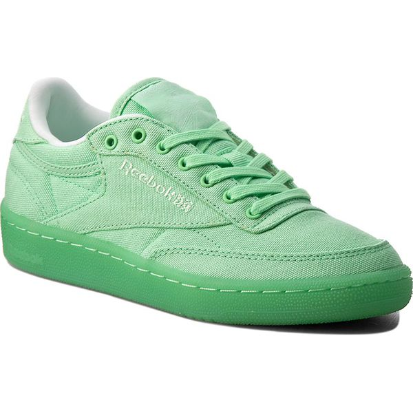 1c662656d4ffc Buty Reebok - Club C 85 Canvas BD2840 Mint Green/White - Obuwie ...