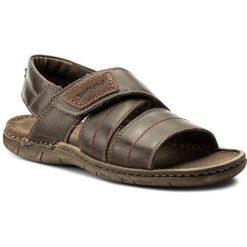 Sandały JOSEF SEIBEL - Paul 49 43249 TE787 330 Moro. Brązowe sandały męskie Josef Seibel, z materiału. W wyprzedaży za 199.00 zł.