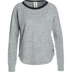Super.natural VACATION Bluza ash melange/navy blazer. Bluzy sportowe damskie super.natural, z elastanu. Za 379.00 zł.