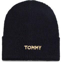 Czapka TOMMY HILFIGER - Effortless Knit Bean AW0AW05950 413. Czapki i kapelusze damskie marki WED'ZE. W wyprzedaży za 159.00 zł.
