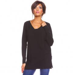 """Sweter """"Salsa"""" w kolorze czarnym. Czarne swetry damskie So Cachemire, z kaszmiru. W wyprzedaży za 173.95 zł."""