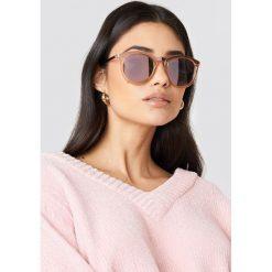 Le Specs Okulary przeciwsłoneczne No Smirking - Pink,Nude. Różowe okulary przeciwsłoneczne damskie Le Specs. Za 283.95 zł.