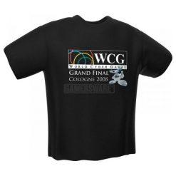 Adidas WCG Grand Final Cologne 2008 T-Shirt czarna (XL). Czarne t-shirty i topy dla dziewczynek Adidas. Za 92.45 zł.