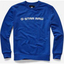 G-Star Raw - Bluza. Niebieskie bluzy męskie G-Star Raw. Za 349.90 zł.