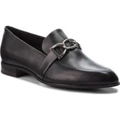 Lordsy VAGABOND - Frances 4606-101-20 Black. Czarne mokasyny damskie Vagabond, ze skóry. Za 419.00 zł.