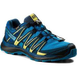 Buty SALOMON - Xa Lite Gtx GORE-TEX 400713 28 W0 Indigo Bunting/Snorkel Blue/Sulphur Spring. Niebieskie buty sportowe męskie Salomon, z gore-texu. W wyprzedaży za 399.00 zł.