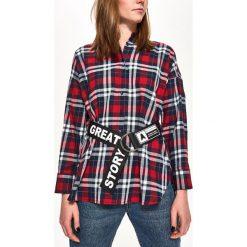 Koszula w kratę - Granatowy. Koszule damskie marki SOLOGNAC. W wyprzedaży za 29.99 zł.