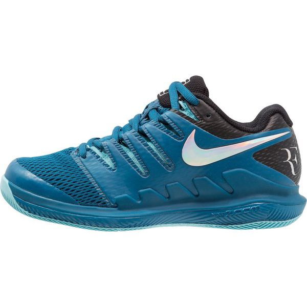 7acd025afe0c Nike Performance AIR ZOOM VAPOR X HC Obuwie multicourt green abyss ...